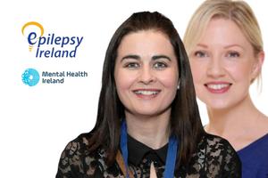 Image of Epilepsy Ireland Community Resource Officer, Edel Killarney & Mental Health Ireland Development Officer, Nicola Morley