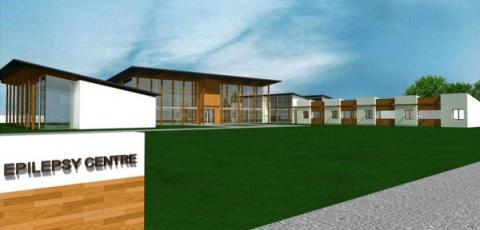 Artists impression of the proposed Epilepsy Centre