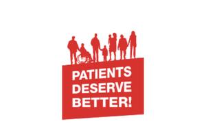 Patients Deserve Better Campaign logo
